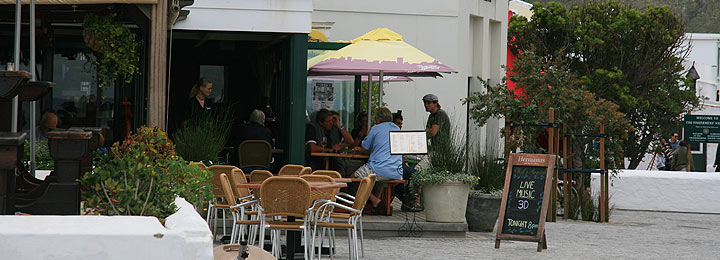 Restaurants in Hermanus
